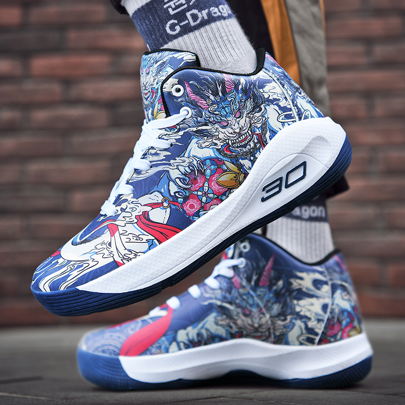 Women and Men Basketball Shoes Breathable Streetball Master Basket Sneakers Curry Ankle Boots Outdoor Sport
