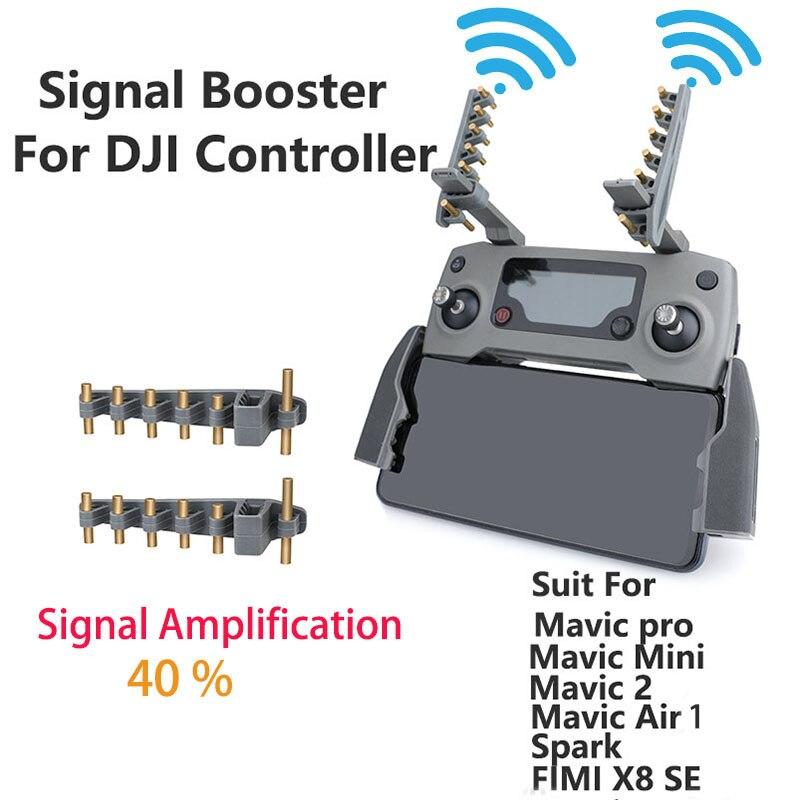 Controlador remoto de señal de extensor de rango de antena para DJI Mavic aire/Mavic 2/Mavic/Mini /Fimi X8 SE Phantom 3 4 Drone