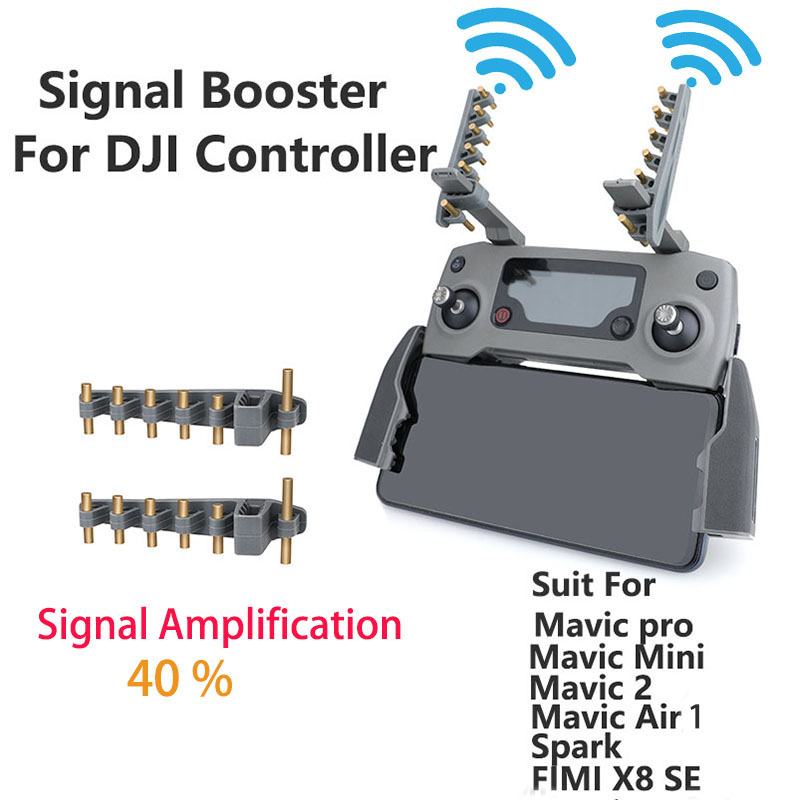 Remote Controller Signal Booster Antenna Range Extender For DJI Mavic Air    Mavic 2   Mavic Mini  Fimi X8 SE Phantom 3 4 Drone