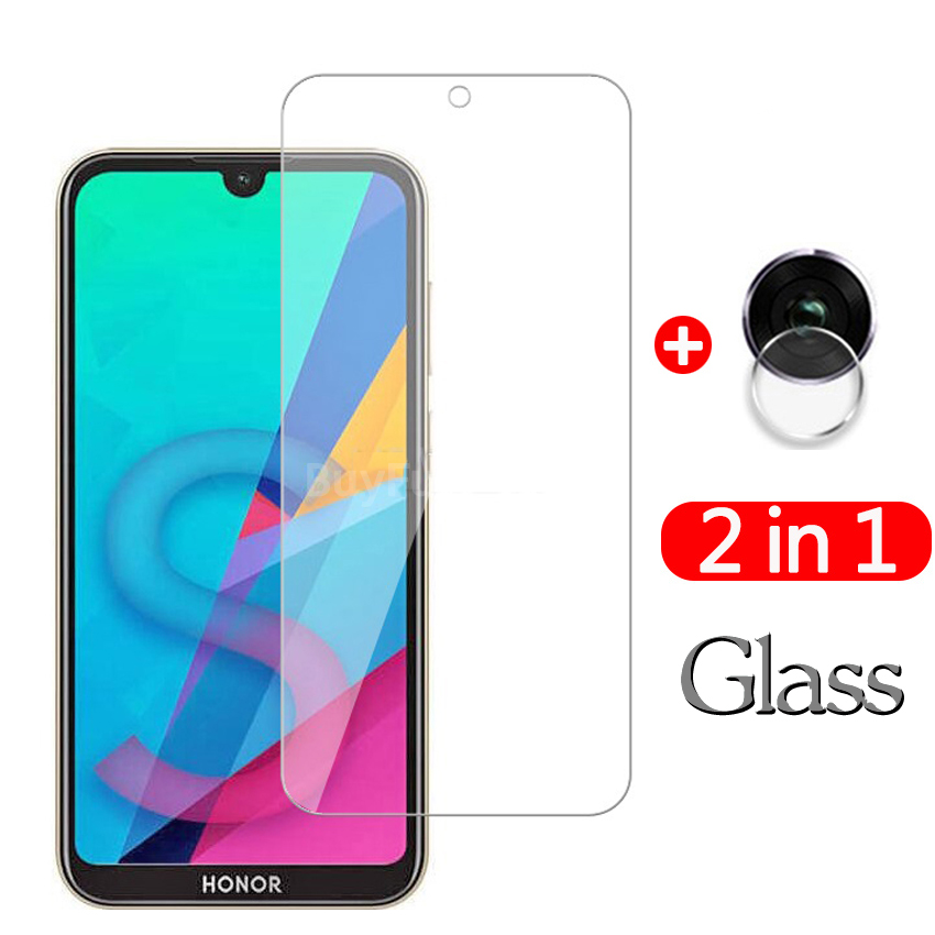 2-in-1 Tempered Glass For Huawei Honor 8s 8 S Glas Screen Protector Honor 8s Honor8s 8 S KSE-LX9, KSA-LX9 HD Protective Glass