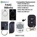 Faac 868mhz puerta de garaje remoto para reemplazar FAAC DL2 868 SLH, XT2 868 SLH control remoto keyfod para puertas de código de mando