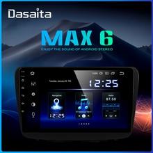 "Dasaita 9 ""IPS רדיו 1 דין רכב סטריאו אנדרואיד 9.0 עבור סוזוקי baleno 2016 2017 2018 GPS ניווט Bluetooth 1080p וידאו TDA850"
