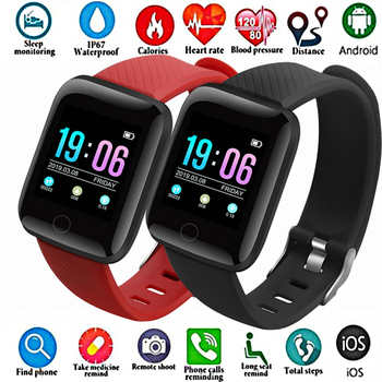 цена на Smart Watches for Men Blood Pressure Waterproof Smartwatch Women Heart Rate Monitor Fitness Tracker Watch Sport For Android IOS