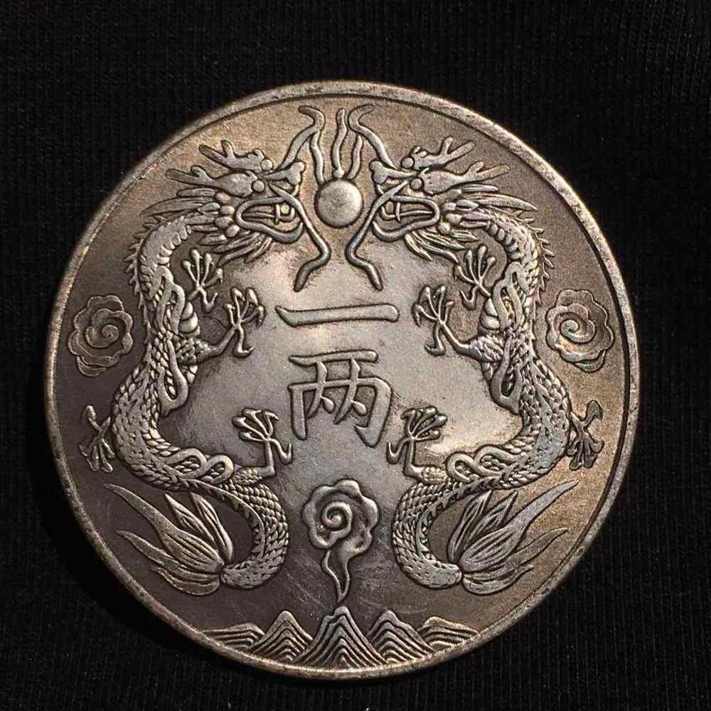 Trung Quốc Linh Vật Rồng Đồng Xu Rồng Bay Ukraina Chép Đồng Tiền Phong Thủy Bản Sao May Mắn Đồng Tiền Cho Tài Lộc Sưu Tầm Monedas