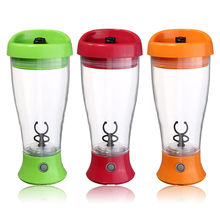 Fitness Sports Water Bottle 350ml Electric Protein Powder Shaker Coffee Milk Juice Shake Automatic Stir Jar Blender