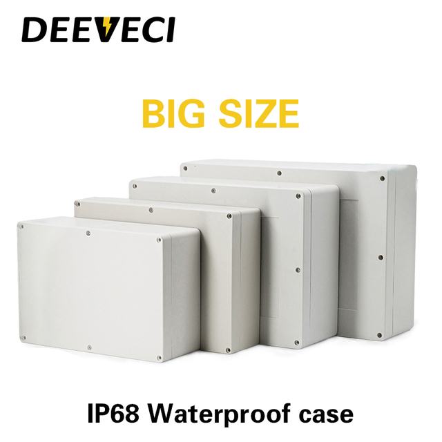 DIY Junction Box Enclosure Case Electrical Project Housing Terminal Waterproof