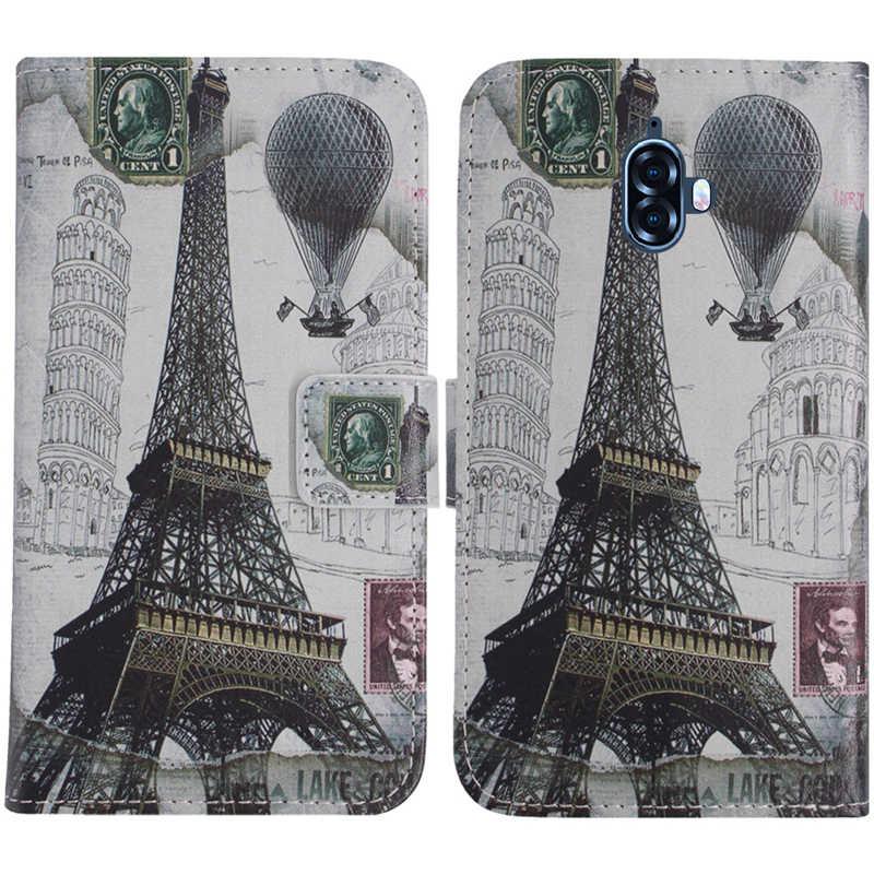 TienJueShi حماية جميلة أغطية جلد جراب هاتف ل Blackview BV9100 BV9500 زائد شل محفظة eتوي الجلد