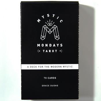 Mystic Mondays Tarot A Deck for the Modern Mystic Tarot Cards and E-Guidebook Set Card Game Gifts Arcana Tarot Card Set Divinati