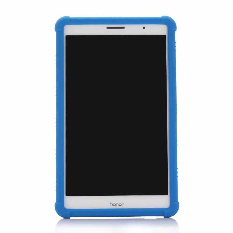 "Crianças shockroof caso para huawei mediapad t3 8.0 ""KOB-L09 KOB-W09 tablet silicone macio volta capa para huawei t3 8 Polegada + caneta"