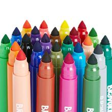24 pcs 24-color Washable Dyeing Watercolor Painting Pen Learning Education Drawing Toys For 3 years + Kids Coloring Books