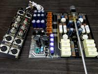 Audoresearch-Amplificador de tubo de arco de alta gama, preamplificador equilibrado/RCA, entrada y salida, 12AU7/ECC83 + ECC88/6DJ8, Kit DIY