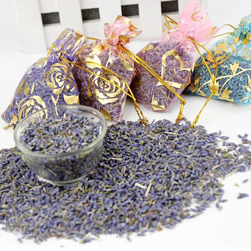Random Wardrobe Lavender Sachet Pollow Case Natural Dry Sachets Fragrance Flowers Proofing Lavender Moth Mildew Lavender R4E6