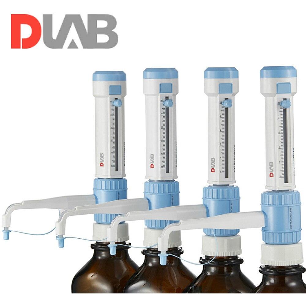 Bottle Top Dispenser DispensMate DLab StepMate Stepper Without Brown Reagent Bottle Dragon Lab Brand Lab Kit Tool 1-10ml