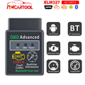 Мини HHOBD ELM327 V1.5 V2.1 Bluetooth ELM 327 OBD2 автомобильный диагностический инструмент считыватель кодов Сканер KO ICAR2 AP200 ICAR PRO для BMW