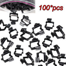 100 قطعة من البلاستيك القابل للتصرف المفصلية مختبر الأسنان سيرامكو المفصلية الأسود