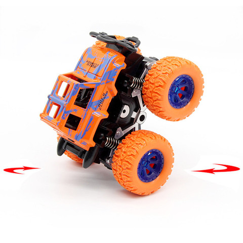 Green Kids Cars Toys Monster Truck Inertia SUV Friction Power Vehicles Baby Boys Super Cars Blaze Truck Children Gift Toys Islamabad