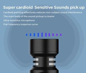 Image 4 - Sairen t mic duplo cabeça super cardióide estéreo registro microfone sem fio na câmera dslr shutgun microfone entrevista ao vivo streaming