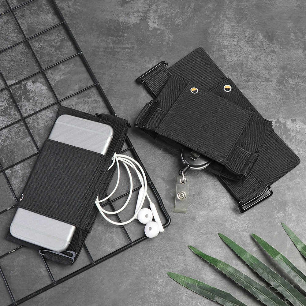 1Pc 2020 Minimalist Invisible Wallet Waist Bag Mini Pouch For Key Card Phone Sports Outdoor Storage Box Black Waist Packs Gifts
