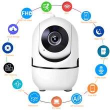1080p Беспроводной wi fi ip Камера домашнего видеонаблюдения