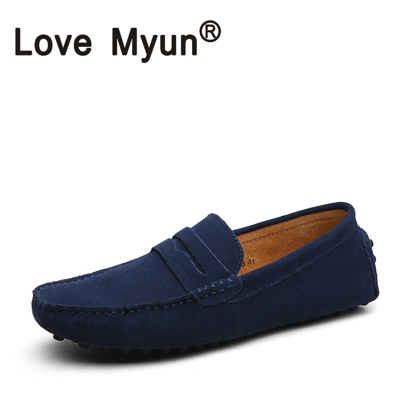 England Casual Shoes Men Moccasin Soft And Light Slip-on Flats Shoes Breathable  Gommino Walking Drive Shoes Genuine Leather 15