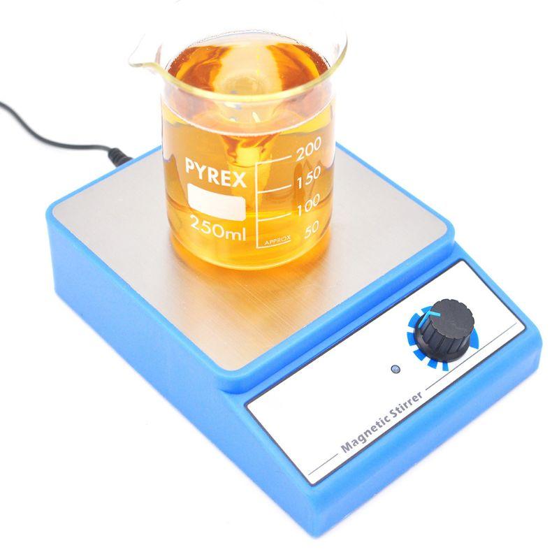 Magnetic Stirrer Magnetic Stirrer Mixer With Stir Bar Maximum Stirring 3000 Rpm Capacity: 3000 Ml