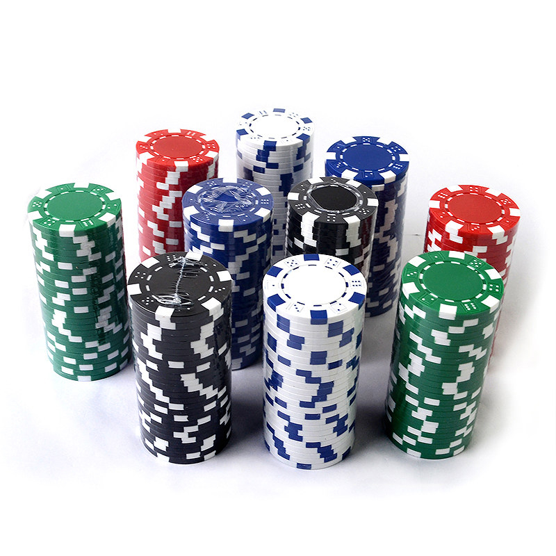 10PCS/LOT Poker Chips Casino ABS+Iron+Clay Poker Chip Texas Hold'em Poker Metal Coins Poker Chips Set Poker Accessories