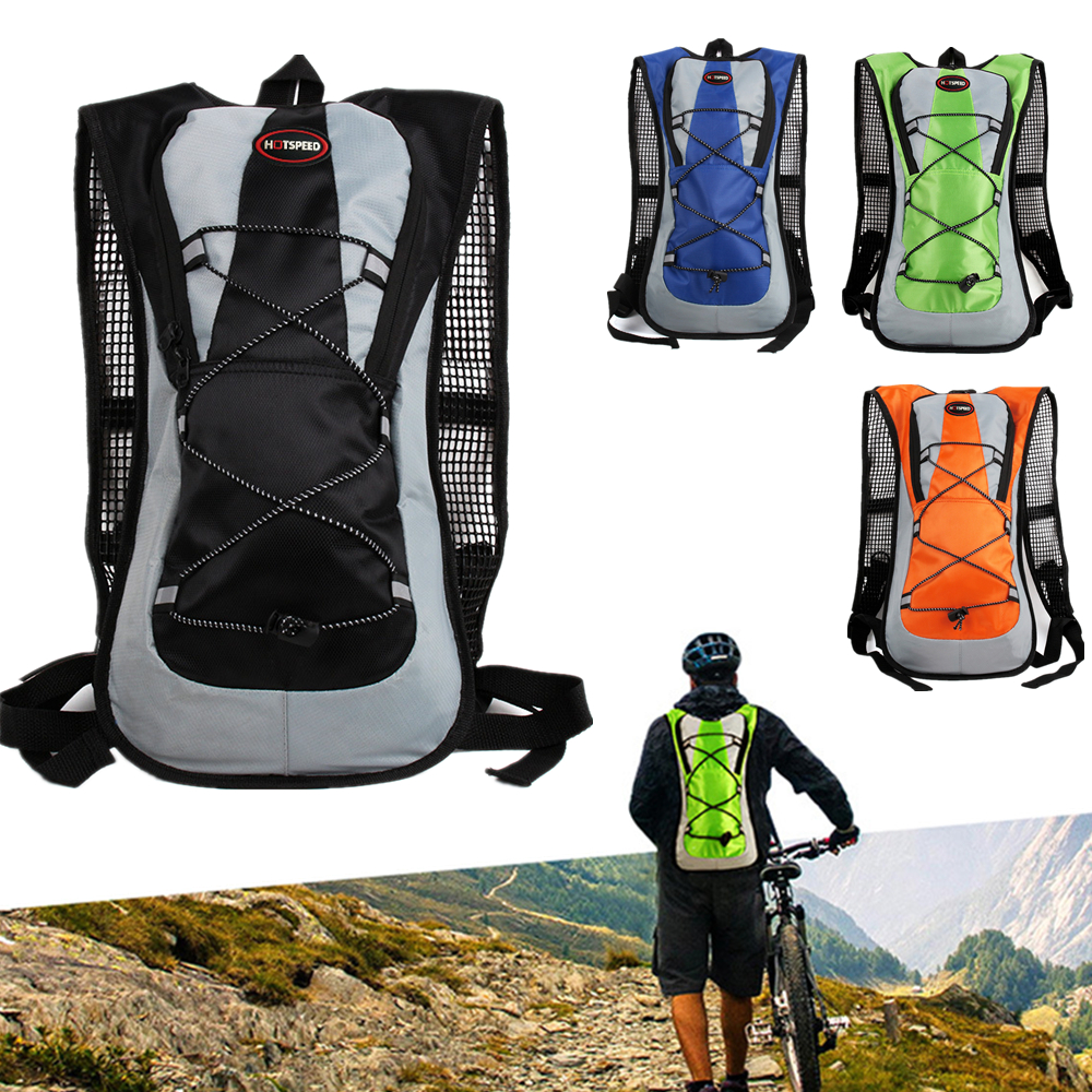 Climbing Cycling Bicycle Backpack Road Mountain Bike Water Bladder Outdoor Sport Running Hiking Shoulder Backpack For Water Bag