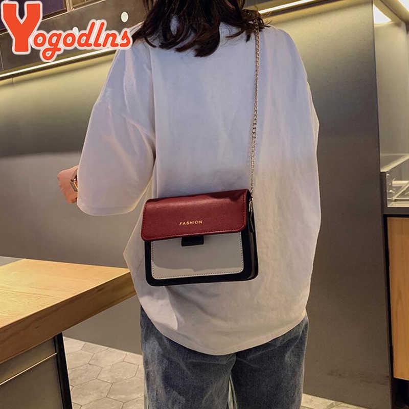 Yogodlns Shiny Glitter Klappe Frauen Handtasche Damen Candy Farbe Messenger Umhängetasche Mädchen Kleine Geldbörse Kette Riemen Schulter Taschen