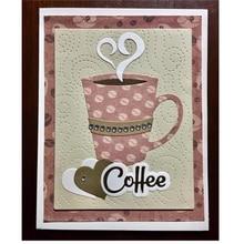 Naifumodo кофейная чашка, металлические режущие штампы для скрапбукинга, новинка, штампы для изготовления открыток, штампы для рукоделия