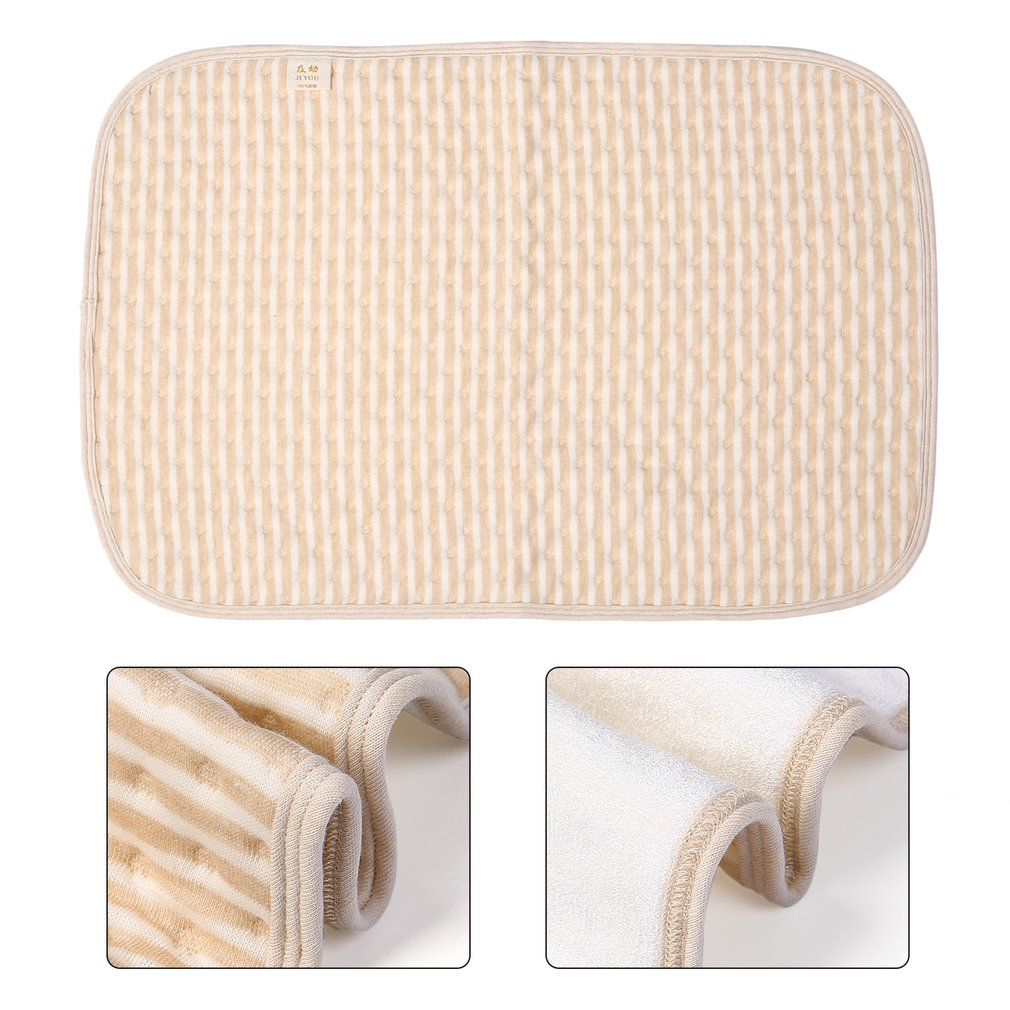 Hot ! Size S Comfortable Newborn Baby Diaper Changing Pad Cotton Breathable Waterproof Baby Nappy Changing Mat Urine Pad Diapers