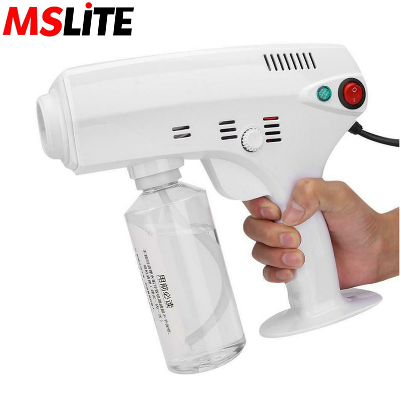 electric hair nano spray gun portable fog electric atomizer sprayer atomizing sterilizing gun machine|Novelty Lighting|   - AliExpress