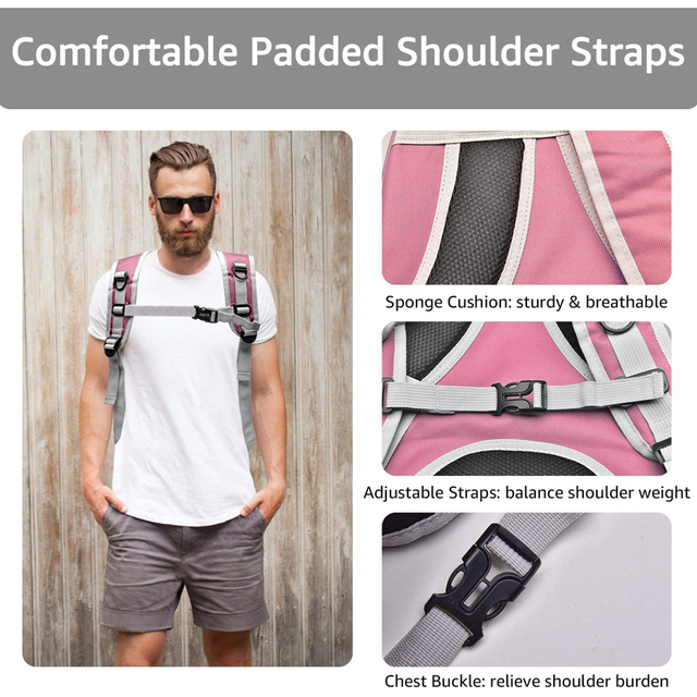 Portable Breathable Cozy Backpack Pet Carrier  3