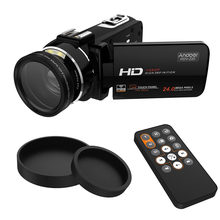 "Videocámara Digital Andoer HDV-Z20 Full HD 1080P videocámaras portátiles 24 MP 16X Zoom Digital 3,0 ""Pantalla táctil cámara Digital(China)"