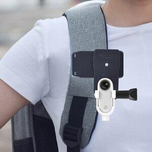 Image 4 - Aksesuarları Insta360 Go eylem spor kamera sırt çantası montaj adaptörü klip bisiklet Tripod özçekim sopa kutup emme konnektörü