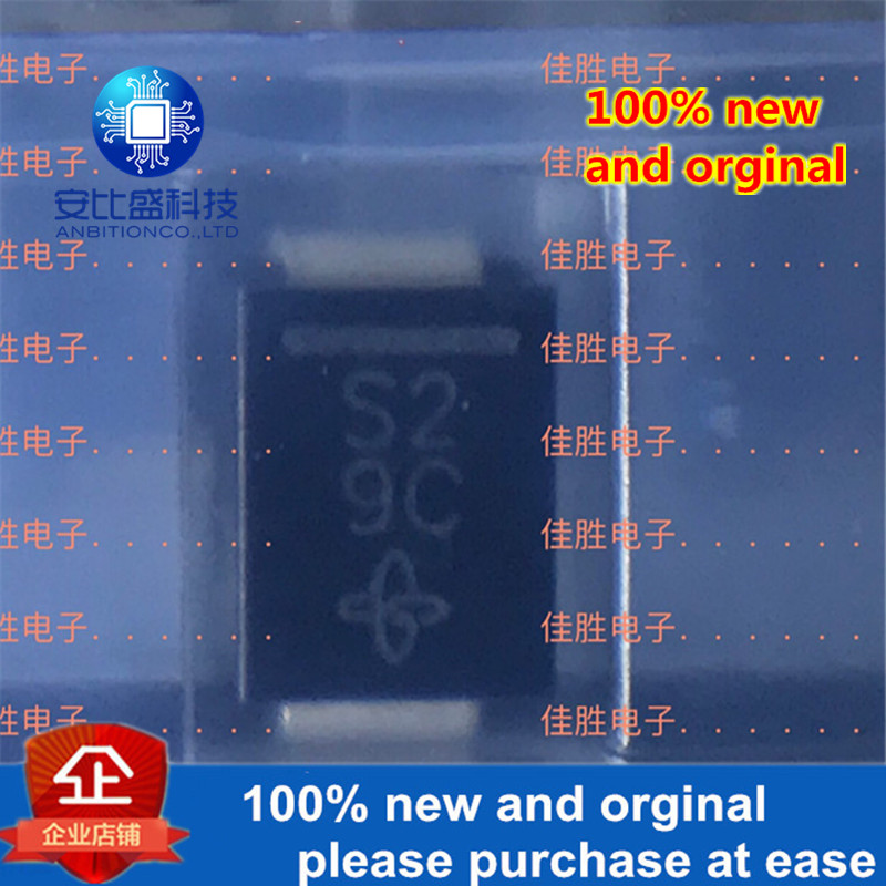 50pcs 100% New And Orginal SS22 2A20V DO214AA SILK-SCREEN S2  In Stock