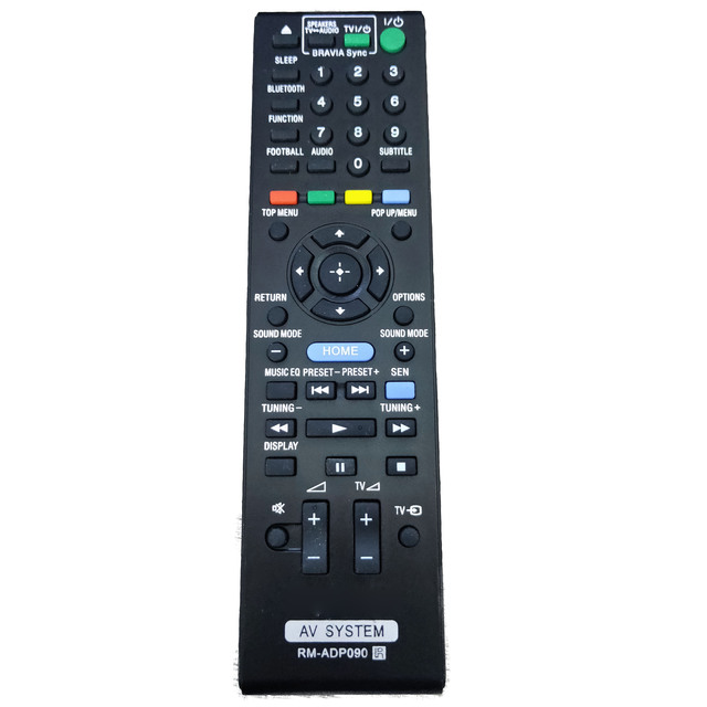 REPUESTO nuevo de mando a distancia para Sony RM ADP090, mando a distancia para BDV E2100/E3100 HBD E2100/E3100
