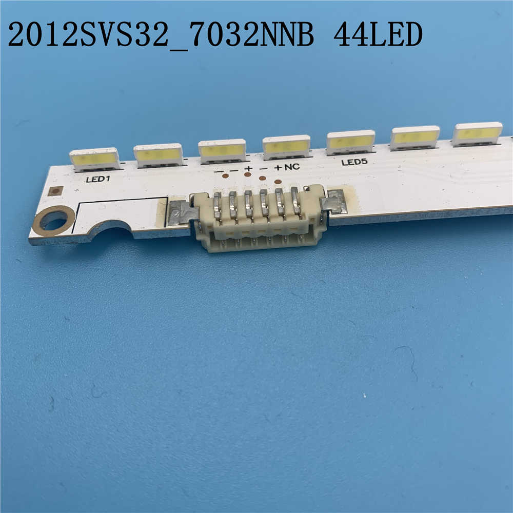 3V 32 Inch Led Backlight Strip Voor Samsung Tv 2012SVS32 7032NNB 2D V1GE-320SM0-R1 32NNB-7032LED-MCPCB UA32ES5500 44 Leds 406 Mm