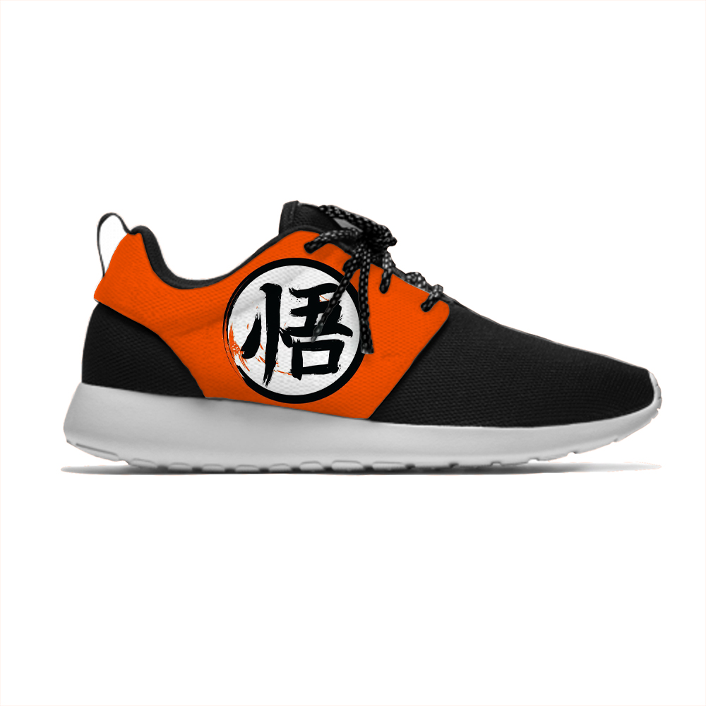 Dragon Ball Saiyan 3D Print Cartoon Girls Boys Lightweight Sneakers Children Breathable Running Sport Shoes Gift Kids