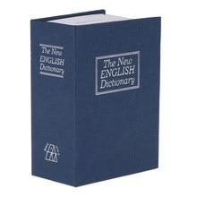 Książka bezpieczna z zamek szyfrowy-strona główna Diversion metalowy mechanizm blokady Box