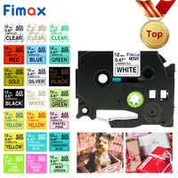 Fimax 31 Colors TZe231 Compatible for Brother P-touch Printer tze tape Tze-231 Tz-231 tze231 12mm P touch Label Maker PT
