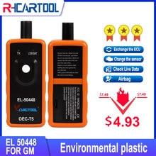 Monitor de presión de neumáticos automático para coche, accesorio OBD2 EL50448, Sensor OEC-T5 EL 50448 para GM/Opel TPMS, herramienta de reinicio EL-50448 electrónica