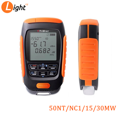 4 in 1 Mini Multifunction Optical Power Meter Save data Visual Fault Locator Network Cable Test VFL optical fiber tester 15/km Pakistan