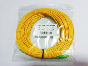 Image 4 - จัดส่งฟรีSM SX PVC 3มม.30เมตรSC APC Fiber Opticสายจัมเปอร์SC/APC SC/APCไฟเบอร์ออปติก