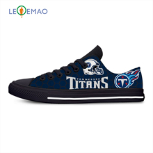 Titans Breathable Leisure Sport Sneakers Tennessee Fans Football Team Fans Lightweight Casual