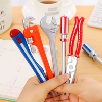 Pack Of 1 Novelty Tool/Cool Replica Gun Ballpoint Pens nk School Office Student Supplies Gift Kid Toy With Magnet Black Writing -