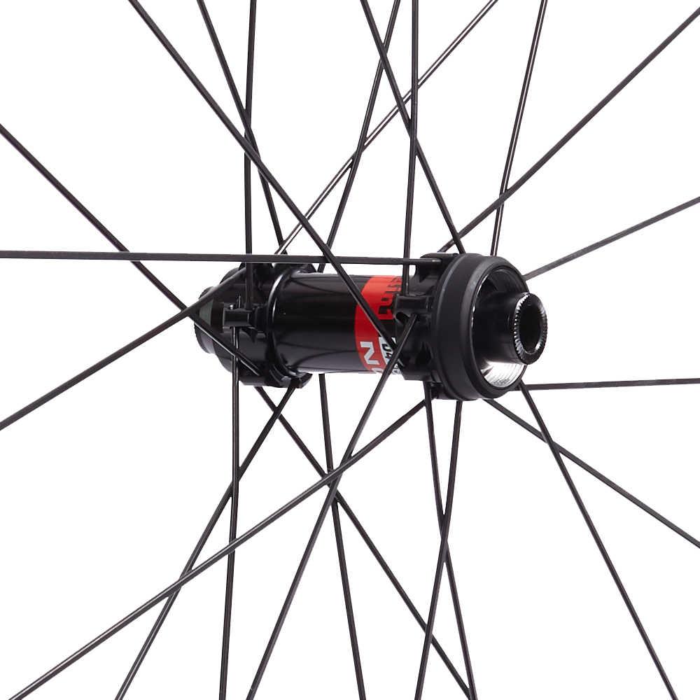 25 largura 30/38/50/60/88mm clincher tubeless D411SB-CL D412SB-CL centro bloqueio disco freio da bicicleta rodas de carbono cyclocross rodado