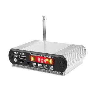 Image 2 - Kolorowy ekran 5V płyta dekodera MP3 czytnik kart 12V moduł Bluetooth akcesoria audio zestaw głośnomówiący z mikrofonem FM TF USB AUX