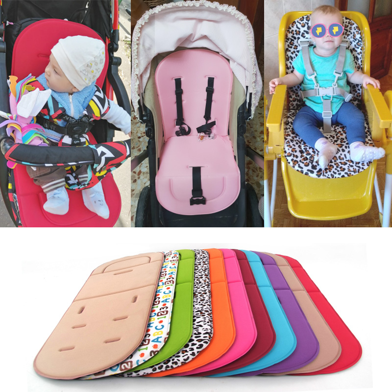 תינוק עגלת מושב כרית ילדים Pushchair עגלת המכונית גבוהה כיסא מושב עגלה רך מזרן תינוק כריות עגלת אבזרים