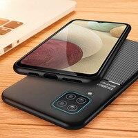 Funda protectora magnética para Samsung Galaxy A12 A 12, funda suave A prueba de gotas con imán para Samsung a12 12a a125f Coques