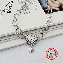 Женское богемное колье подвески для ожерелья в форме сердца